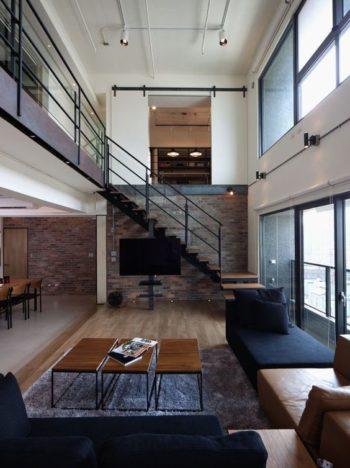 リビング階段イメージ